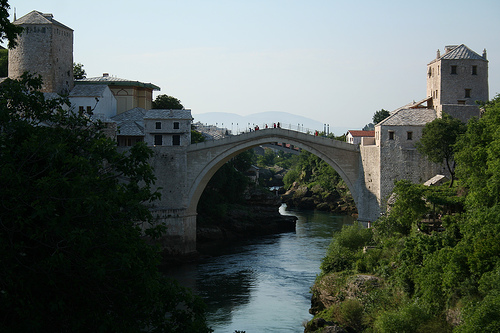 Stari Most , Old Bridge,in Mostar
